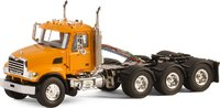 Mack Granite Truck 8x4 Day Cab Diecast Model Tractor by WSI in 1:50 Scale