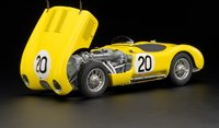 1953 Jaguar C-Type in Yellow  #20 by CMC in 1:18 Scale
