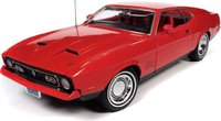 James Bond 1971 Ford Mustang Mach 1 (Diamonds Are Forever) in 1:18 scale by Auto World