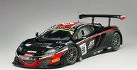 2014 McLaren 12C GT3 #98 Total 24 Hrs of Spa Art Grand Prix Resin Model Car in 1:18 Scale by True Scale Miniatures