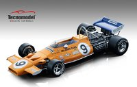 1971 MCLAREN F1 M19A DENNY HULME MONACO GP MODEL in 1:18 scale by Tecnomodel
