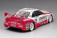 Nissan Skyline GT-R LM #23 Clarion 1996 Le Mans 24 Hrs Model Car in 1:18 Scale by Truescale Miniatures