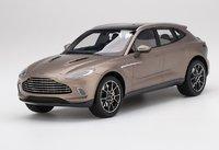 Aston Martin DBX Satin Solar Bronze in 1:18 Scale by TopSpeed