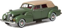 1939 Cadillac Series 75 Convertible Sedan Top Up in 1:43 Scale by Esval Models
