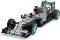 Mercedes AMG Petronas F1 Lewis Hamilton  Winner Brazilian GP 2016 Diecast Model in 1:43 Scale by Minichamps
