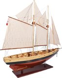 Bluenose II Painted Yacht by Authentic Models