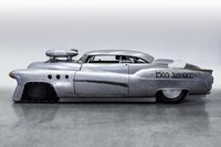 1952 Buick Super Riviera Bombshell Betty in silver in 1:43 scale by Auto Cult