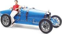 Bugatti T 35 #30 w Female Figurine Diecast Model Car by CMC in 1:18 Scale