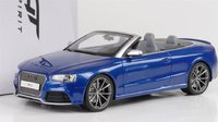2014 AUDI  RS5 Cabriolet Resin Model Car in 1:18 Scale by GT Spirit