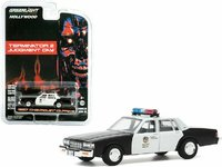 1987 Chevrolet Caprice Metropolitan Police Car Terminator 2 in 1:64 scale by Greenlight