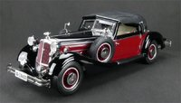 1937 Horch 853 Diecast Model in 1:12 Scale by CMC