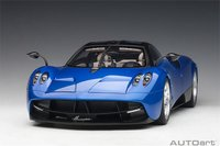 Pagani Huayra in Blue Model Car in 1:12 Scale by AUTOart