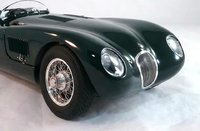 1952 Jaguar C-Type in British Racing Green by CMC in 1:18 Scale