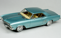 1963 Buick Riviera Teal in 1:43 Scale by Goldvarg Collection