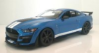 2020 Ford Shelby GT500 blue in 1:18 scale by Maisto