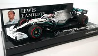 Mercedes Benz AMG Petronas 2019 German GP Winner Lewis Hamilton  in 1:43 scale by Minichamps