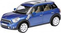 Mini Countyman in Blue Diecast Model Car in 1:43 Scale by Schuco