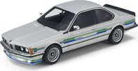 1985 BMW Alpina B7 Silver in 1:18 scale by LS Collectibles