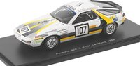 1984 Porsche 928 S No. 107 LM Model Car in 1:43 Scale by Spark