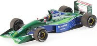 Jordan Ford 191 f1 Japon 1991 in 1:18 Scale by Minichamps