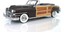 1948 Chrysler Town & Country Convertible Brown 1:24 scale by Danbury Mint