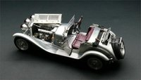 1930 Alfa Romeo 6C 1750 GS Clear Finish by CMC in 1:18 Scale