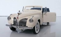 1941 Lincoln Continental  Limited Edition of 500 Pieces by The Franklin Mint in 1:24 scale