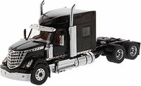 International Lonestar Sleeper Cab Truck Tractor Black in 1:50 scale by Diecast Masters
