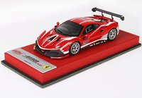 Ferrari 488 Challenge 2020 Rosso Corsa 322 Limited 20 Pieces in 1:43 scale by BBR