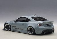 Rocket Bunny Toyota 86 Concrete Grey Model Car in 1:18 Scale by AUTOart