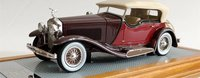 1933 Isotta Fraschini Tipo 8A Dual Cowl Sports Tourer Top Up by Castagna in 1:43 Scale by Ilario