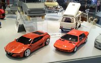 BMW M1 Hommage in Red Resin Model in 1:18 Scale by Schuco