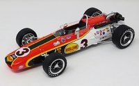 1968 Rislone Eagle, Winner Indianapolis 500, Bobby Unser in 1:18 scale by Replicarz