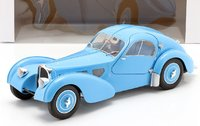 1937 Bugatti Type 57 SC Atlantic T35 blue in 1:18 scale by Solido