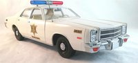 1977 Plymouth Fury Hazzard County Sheriff in 1:18 Scale by Greenlight