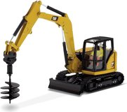 Cat® 308 CR Mini Hydraulic Excavator Next Generation in 1:50 scale by Diecast Masters