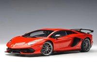 Lamborghini Aventador SVJ, Rosso Mars/Metallic Red in 1:18 Scale by AUTOart