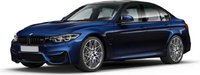 BMW M3 Competition 2017 Blue Metallic in 1:18 scale by Norev