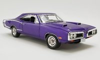 Dodge Coronet Super Bee in Plum Crazy Diecast Model in 1:18 Scale by GMP