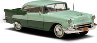 1955 Oldsmobile Super 88 Holiday Coupe Two Tone Green in 1:43 Scale by Esval Models