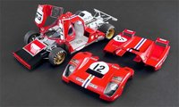 1971 Ferrari 512M 24 Hrs. Le Mans Sam Posey Masterpiece Collection in 1:18 Scale