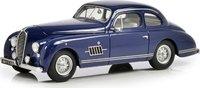 1949-50 Delahaye 135M Coupé by Guilloré Blue in 1:43 Scale by Esval Models