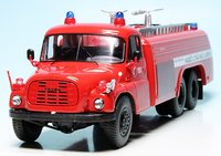 Tatra T148 Fire Engine in 1:43 Scale by Schuco