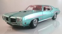 1970 Pontiac GTO Judge Mint Turquoise in 1:18 Scale by Acme
