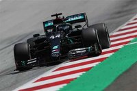 MERCEDES-AMG PETRONAS F1 W11 EQ LEWIS HAMILTON WINNER STYRIAN GP 2020 in 1:18 scale by Minichamps