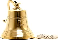Titanic Ship Bell 6 inches by Old Modern Handicrafts