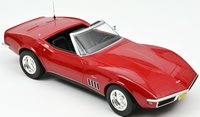 1969 Chevrolet Corvette Convertible - Red In 1:18 scale by Norev