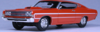 1969 Ford Torino Calypso Coral in 1:43 scale by Goldvarg Collection