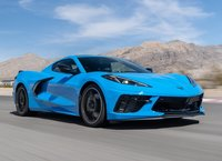 Chevrolet Corvette C8 Stingray Z51 Rapid Blue in 1:18 Scale by AUTOart