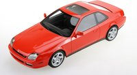 1997 Honda Prelude Red in 1:18 scale by LS Collectibles